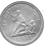 *albania  1 Lek 1969  Km 48   Bu - Albania