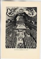 PLANCHE HISTOIRE DU PEUPLE FRANCAIS ETATS GENERAUX EN 1614 - Planches & Plans Techniques