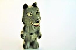 Vintage FABELTJESKRANT : Bor De Wolf - RESI MMC - 1968 - Mist Accordeon - Figurines