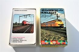 Speelkaarten - Kwartet, Spoorweg Kwartet, HEMA, *** - Vintage 1975 - Cartes à Jouer Classiques