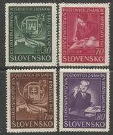 SK 1943 Philatelic Exhibition , SLOVAKIA, 1 X 4v, MNH - Blocks & Kleinbögen