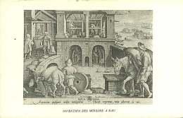 290418 - INVENTION DES MOULINS A EAU - Agriculture Moulin âne  - SUPRA - Agriculture