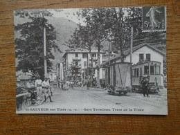 Repro , St-sauveur Sur Tinée , Gare Terminus Tram De La Tinée - France
