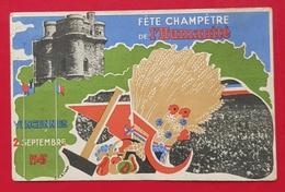 Vincennes- Fête De L'Humanité 2 Septembre 1945. - Vincennes