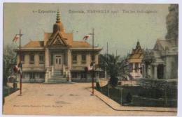 13 MARSEILLE EXPOSITION COLONIALE 1906 THEATRE INDOCHINE - Exposiciones