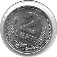 *albania  2 Leke 1989  Km 73   Bu - Albania