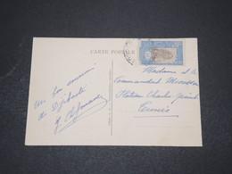 CÔTE DES SOMALIS - Affranchissement De Djibouti Sur Carte Postale Pour La France  - L 16029 - Côte Française Des Somalis (1894-1967)