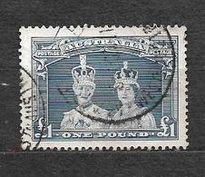 #25# AUSTRALIA YVERT 122 VF USED. - Used Stamps