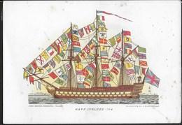 NAVE INGLESE  1794 - CASA MAMMA DOMENICA - STORIA DELLA NAVE SERIE 3 - NUOVA - Guerra