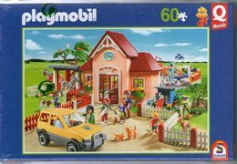PUZZLE   QUICK N° 56778        PLAYMOBIL     60 PIECES - Puzzles