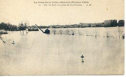 26B  La Crue De La Seine Janvier-Février 1910. Vers Conflans.Vue Prise Des Fortifications - Conflans Saint Honorine