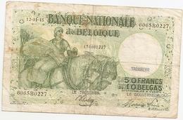 50 Fr - 12-01-45 - [ 2] 1831-... : Royaume De Belgique