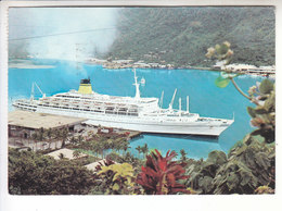 Sp - PANAMA - ASIA AFRICA AUSTRALIA - Canal Zone - Bateau - Timbre - Cachet Cristobal - 1976 - Panama