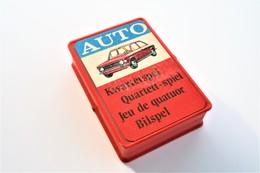 Speelkaarten - Kwartet, - Auto, 1971, Mulder, *** - Vintage - Cartes à Jouer Classiques