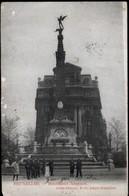 Bruxelles : Monument Anspach - Marchés
