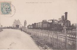 36. Buzançais. Train En Gare. TBE - Stations With Trains
