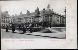 Bruxelles : La Place Des Martyrs / Martelarenplein / Mooi Geanimeerd - Marchés