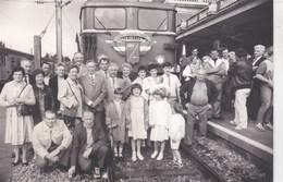 Photo Locomotive : Groupe Amicale SNCF De Valenciennes Mon Dernier Train BB 16778 - Trains