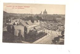 $3-5700 AUSTRIA AUSBLICK WIEN 1913 Viaggiata FRANCOBOLLO ASPORTATO - Otros