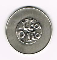 &   PENNING E.G.M.P. LEO DICO - HUBERT FRERE 1980 EUROPEES GENOOTSCHAP VOOR MUNT - EN PENNINGKUNDE 100 EX. - Elongated Coins