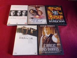 LOT DE 5 DVD  POUR 10 EUROS ( Lot  16 / 40 3 ) - DVDs