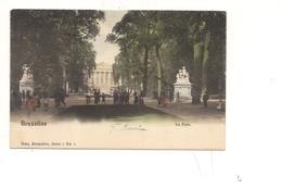 $3-5702 BELGIO BELGIQUE BRUXELLES Viaggiata FRANCOBOLLO ASPORTATO - Foreste, Parchi, Giardini