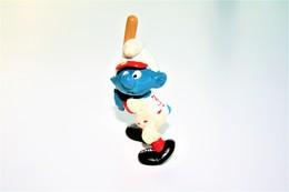 Smurfs ADVERTISING Nr 112 - *** - Stroumph - Smurf - Schleich - Peyo - Baseball - Smurfs