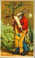 Chromo & Image - Chromo. Dorée - CHOCOLAT POULAIN - Souvenir De La Maison POULAIN - Le Jardinier - En TB. Etat - Poulain