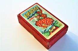 Speelkaarten - Kwartet, Freddies Avontuurlijke Luchtreis, Jumbo, *** - Vintage 1958 - Cartes à Jouer Classiques