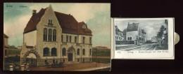 ALLEMAGNE - DORTMUND  EVING - AMTSHAUS - CARTE A SYSTEME DEPLIANT 12 VUES - Dortmund