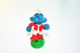 Smurfs ADVERTISING Nr 114 - *** - Stroumph - Smurf - Schleich - Peyo  - Jogger - Running - Smurfs