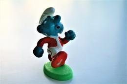 Smurfs ADVERTISING Nr 114 Type 2 - *** - Stroumph - Smurf - Schleich - Peyo - Jogger - Running - Smurfs