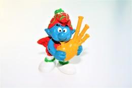 Smurfs ADVERTISING Nr 111- *** - Stroumph - Smurf - Schleich - Peyo - Bagpipes - Smurfs