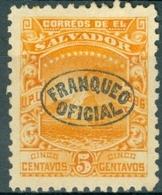 EL SALVADOR, PAESAGGI, LANDSCAPES, SAN MIGUEL, UPU, 1897, FRANCOBOLLI NUOVI (MLH*),  Michel D53    Scott O82 - El Salvador