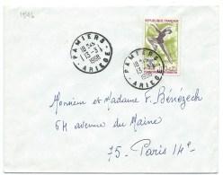ENVELOPPE / N° 1546 PATINAGE / PAMIERS ARIEGE   1968 - 1961-....