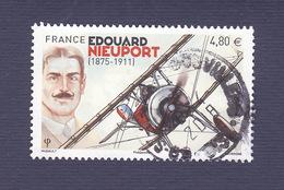 2016, Edouard Nieuport, Oblitération Ronde - 2010-.. Matasellados
