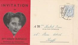 Invitation Au 51 E Gouter Matrimonial D'ecaussines-Lalaing , De 1964 - Ecaussinnes
