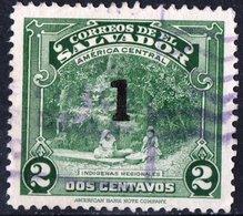 EL SALVADOR, PAESAGGI, LANDSCAPES, 1945, FRANCOBOLLI USATI,  Michel 609    Scott 591 - El Salvador
