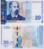 BULGARIA  20  LEVA  2.007  KM#118b   PLANCHA/SC/UNC   T-DL-12.180 - Bulgaria