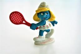 Smurfs Nr 20135#1 - *** - Stroumph - Smurf - Schleich - Peyo - Tennis - Ladies - Schtroumpfs