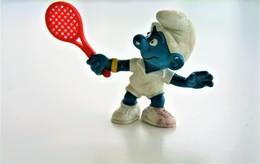 Smurfs Nr 20049#1 - *** - Stroumph - Smurf - Schleich - Peyo - Tennis - Schtroumpfs