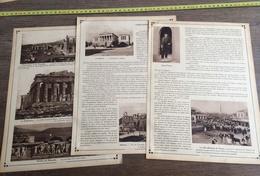 1915 GRECE ALBANIE CONSTANTINOPLE ATHENES SCUTARI - Collections