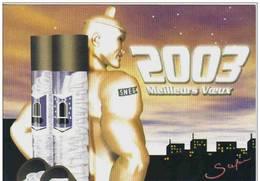 Carte Postale Gay SNEG Homosexuel Nue Nude Capote Trés Beau Plan - Salud