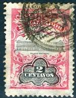 EL SALVADOR, MONUMENTI, PALAZZO NAZIONALE, 1907, FRANCOBOLLI USATI,  Scott 356 - El Salvador