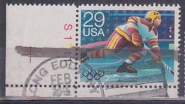 Stati Uniti - Giocatore In Azione - Hockey (su Ghiaccio)