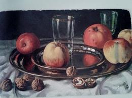 ILLUSTRATEUR RAPHAEL TUCK OILETTE FRUIT APPLE POMMES - Tuck, Raphael