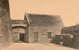 Cpa 62 AMBLETEUSE Cour Du Fort Vauban , Animée, Dos Vierge, Peu Courante - France