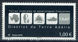 French Antarctic (FSAT), Terre Adélie, Coat Of Arms, 2018, MNH VF - French Southern And Antarctic Territories (TAAF)