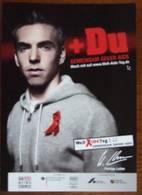 Gay Man Against Aids Carte Postale - Salud