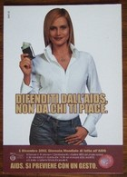 Defend Yourself From AIDS Carte Postale - Salud